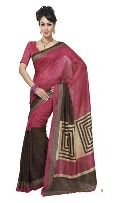 bhagalpuri style E7509B saree