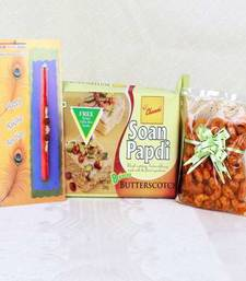 Buy multicolor rakhi-with-sweets rakhi-with-sweet online