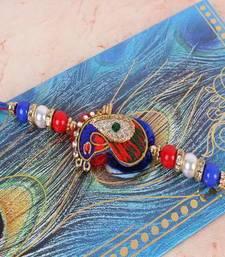 Buy Designer Zardosi Rakhi zardosi-rakhi online