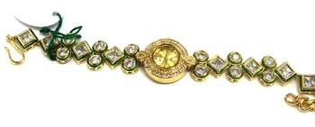 Traditional Jaipuri Kundan Watch