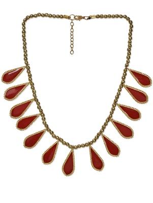 Red stone neckpiece