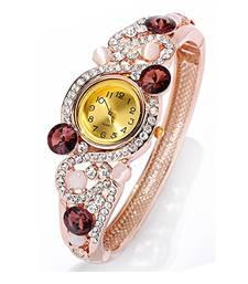 Buy Brown cubic zirconia bracelets Bracelet online