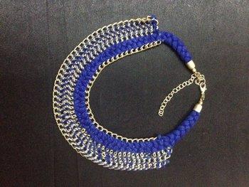 Blue Threa d Necklace