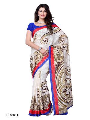 Multi Color Color Jacquard Party Wear Fancy Saree