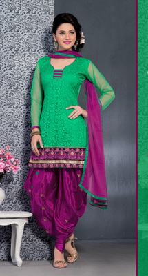 GREEN Fancy Suits in designer style