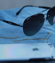 Buy BLACK POLORISE SUNGLASSES sunglass online