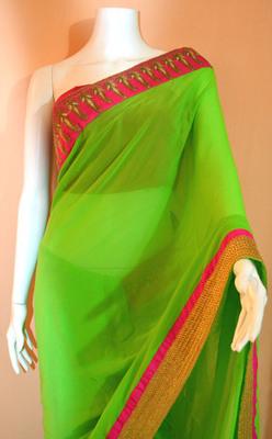 Neon green and velvet
