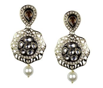 Beautiful  Gold Danglers- Drops