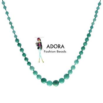 Aqua Jade necklace