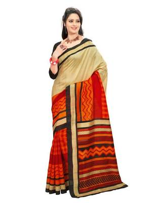 Beautiful Bhagalpuri style saree