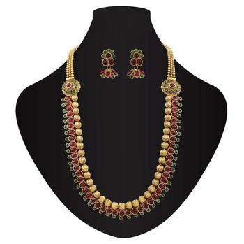 Embellished Side Pendant Kemps antique necklace set