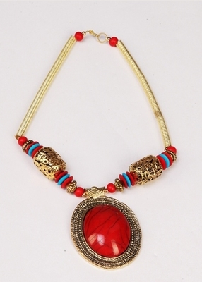 Red Stylish & Designer Necklace