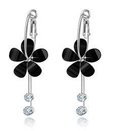 Buy Black crystal earrings Earring online