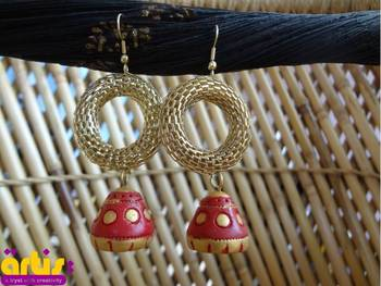 Jhumki with a Ring
