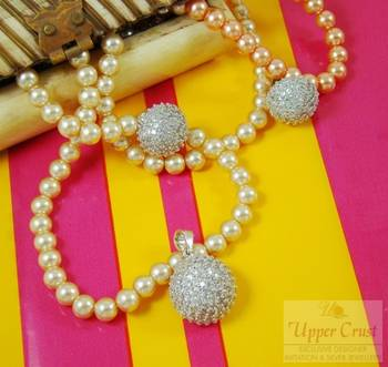 Cluster Round Everyday Wearable Earring Pendent Set