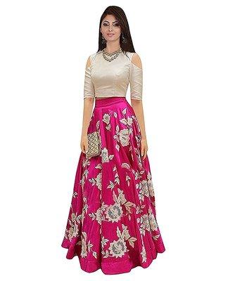 pink art_silk embroidered lehenga