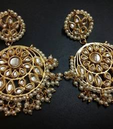 Buy White pearl earrings Earring online