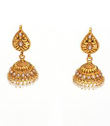Buy Pearl Drop Jumka gifts-for-girlfriend online