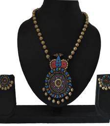 Buy Multicolor agate necklaces Necklace online