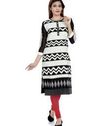 Buy White embroidered khadi stitched embroidered-kurtis embroidered-kurtis online