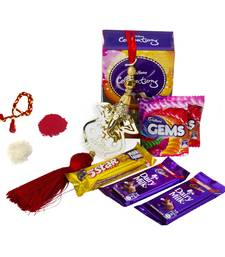 Buy Ganesha Blessed Bhai Dooj Celebrations bhaubeej-gift online