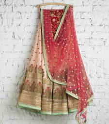 Buy Multicoloured Embroidered Georgette Circuler Women Ethnic Wear Lehenga with choli ghagra-choli online