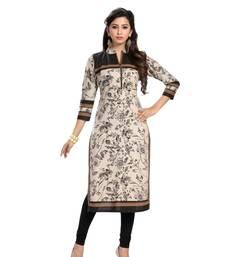 Buy Multicolor printed cotton kurtas-and-kurtis punjabi-kurtis online