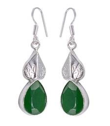 Buy Green onyx earrings Earring online