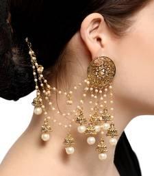 Buy Gold diamond earrings Earring online