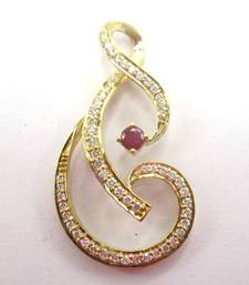 Gemstone pendants online shopping best price in india buy 14k gold ruby white diamond and shaped pendant on 17 chain gemstone buy small 1d44ff3f4d093069d56e7327eedc29da60f5c0cc09300f652d7f464c9cb4e123 aloadofball Images