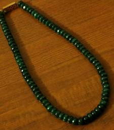 Buy Green Onyx Single Line Necklace Necklace online