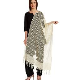 Buy Aurelia Neutral Viscose stole and dupattas stole-and-dupatta online