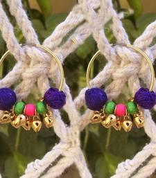 Buy desi tadka hoops - golden gifts-for-her online