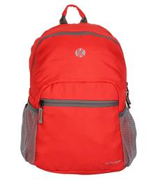 Buy Red Color Unisex Classic Laptop Backpack laptop-bag online