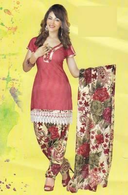 Dress Material Lawn Cotton Prints Unstitched Salwar Kameez Suit D.No PD101 .
