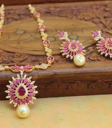 Buy Red agate necklace-sets necklace-set online