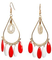 Buy Gold metallic beryl yellow gold danglers-drops danglers-drop online