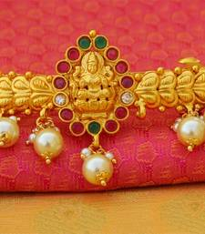 Buy Designer gold plated temple hair pin hair-accessory online