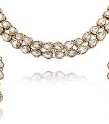 Buy Kundan Choker Necklace necklace-set online