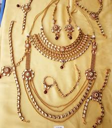 Buy Kundan bridal set for Indian Dulhan bridal-set online