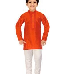 Buy Kute Kids Boy's Ethnic Kurta Payjama Set boys-kurta-pyjama online