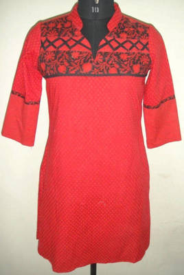 Red Coloured Kurti