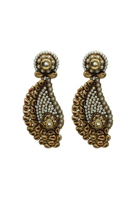 Traditional Gold Danglers