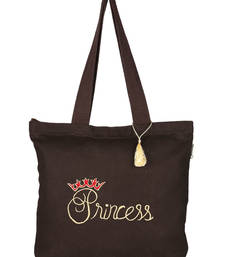 Buy Brown Canvas  Tote Bag tote-bag online