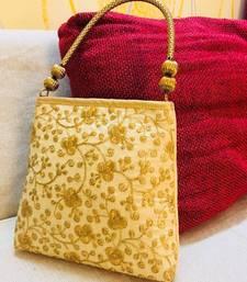 Buy Designer Embroided Handel Bag clutch online