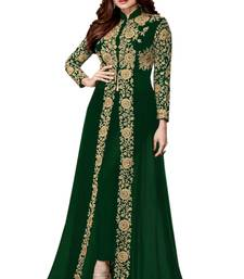 Buy Green embroidered georgette salwar wedding-salwar-kameez online