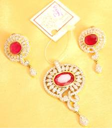 Buy Pendant Set 1 gram jewellery Pendant online