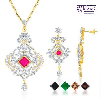 Sukkhi Gold and Rodium plated 4 set of C