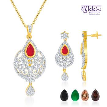 Sukkhi Glistening Gold and Rodium plated