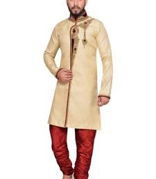 Buy Gold brocket indo western dresses indo-western-dress online
